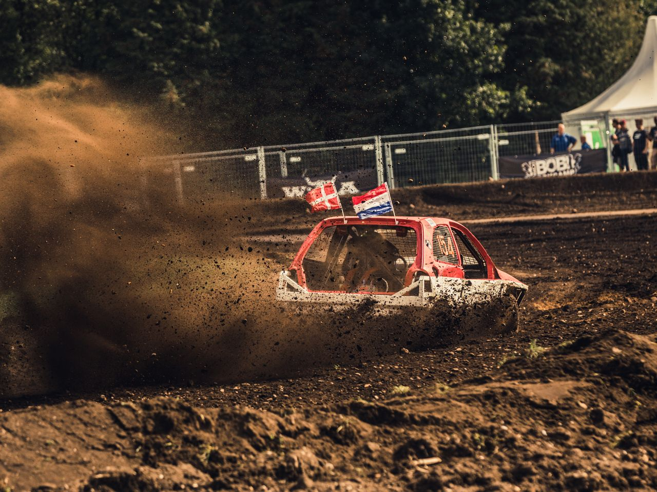 The race is held as part of Europe's biggest motorsport festival—on the grounds of the Hartenholm airfield in the German town of Hasenmoor in Schleswig-Holstein, roughly fifty kilometers north of Hamburg.
