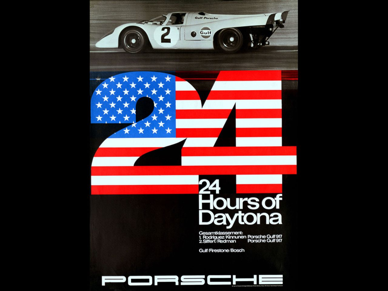 ... or this one showing the 24 Hours of Daytona in 1970 with the celebrated Porsche 917.