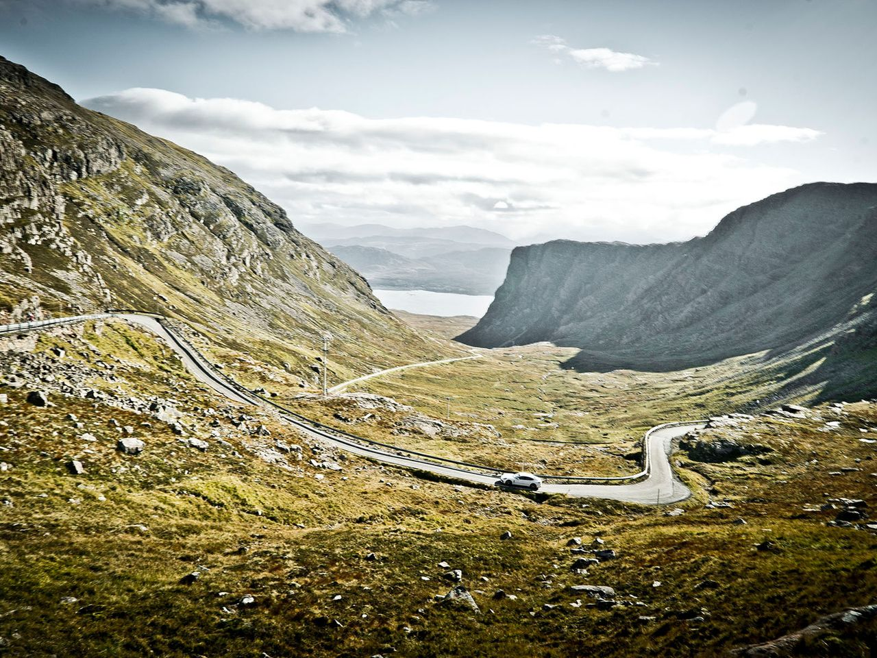 The Applecross Pass, perhaps the most beautiful part of the route.