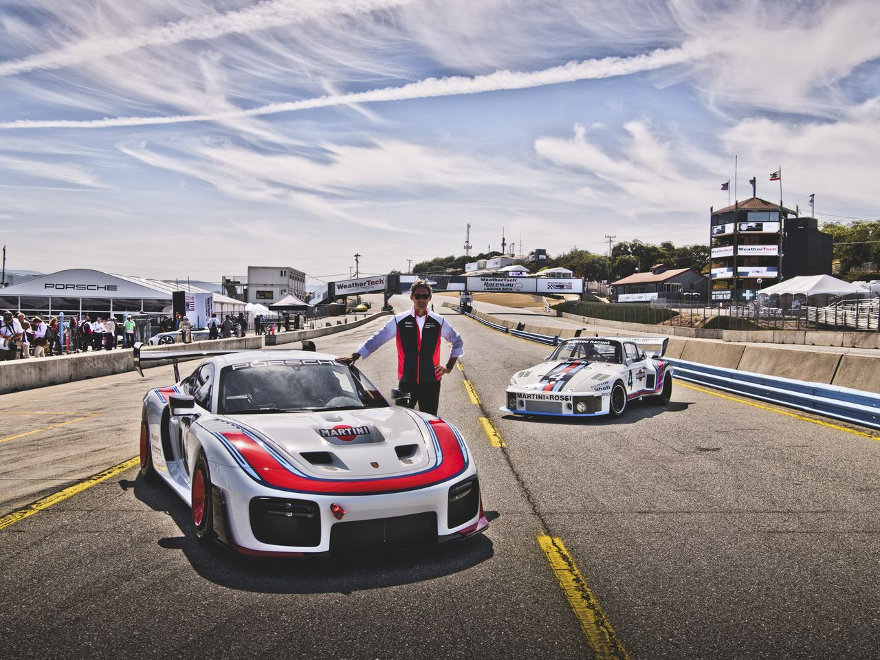 """This spectacular car is Porsche's birthday present to fans around the world,"" says Dr. Frank-Steffen Walliser, Director of Motorsport and GT Cars."