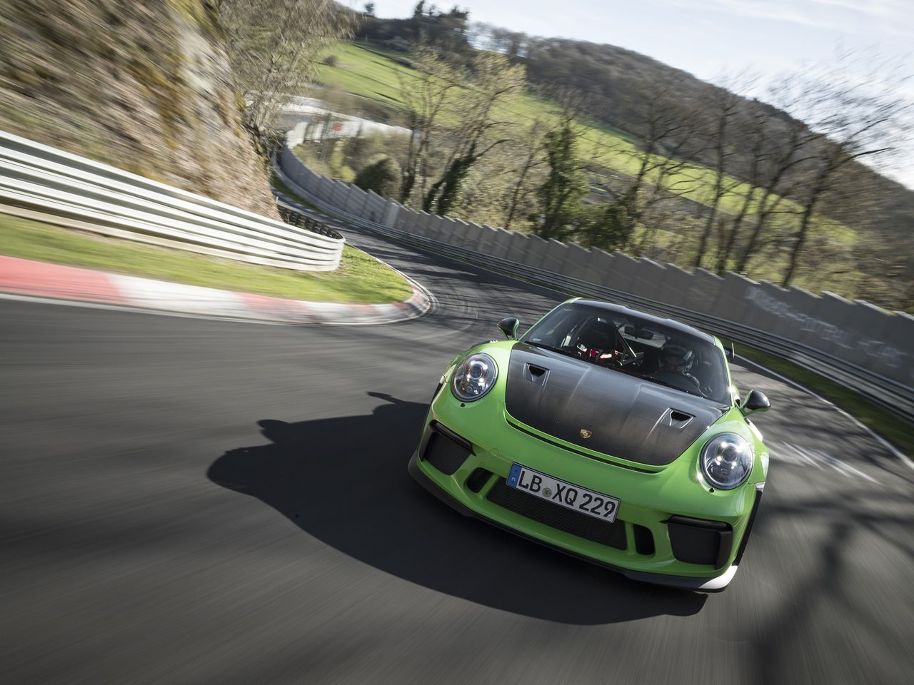 ... He especially likes the agility of the 911 GT3 RS and its ability to take curves at high speeds. Those features gain valuable seconds that make the difference in final racetrack times.