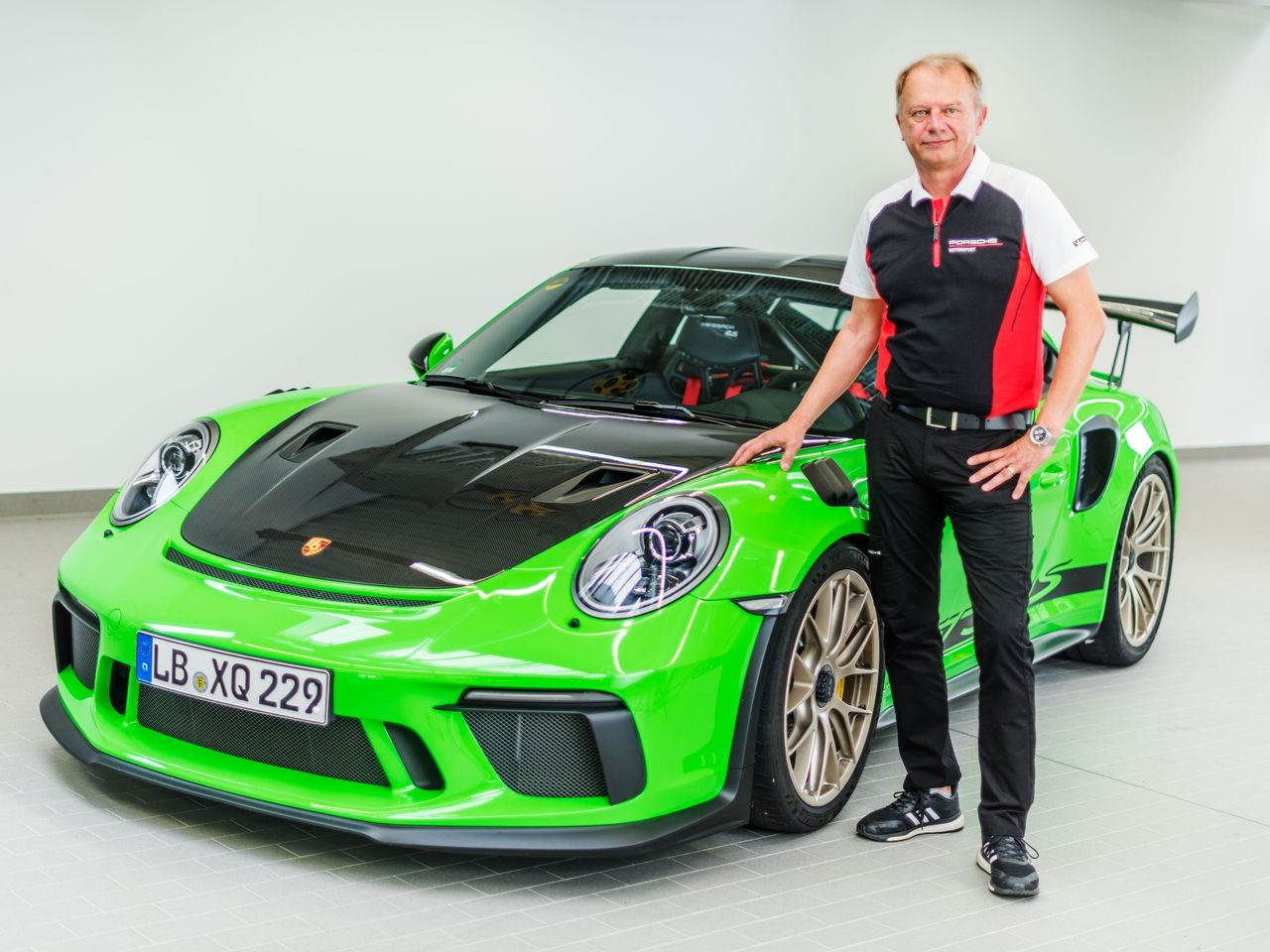 Business as usual: For Jan Frank, a Porsche performance engineer who has also worked on the 918 Spyder and the 911 GT2 RS, it's the third time in a row that his team has driven a newly developed car around the Nordschleife in under seven minutes.